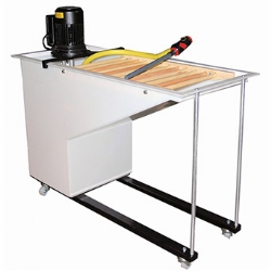 Slip Making and processing equipment supplied by Clayman - Clayman